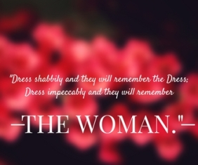 8. Coco Chanel-quote-Dress shabbily