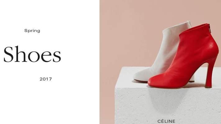 Celine_mismatched shoes