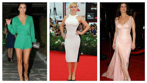 Inverted triangle body shape celebrities