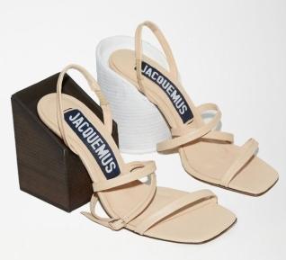 jacquemus mismatched shoes--high-sandals-high-heels