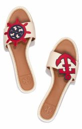 Tory Burch mismatched sandals