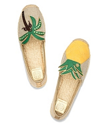 Tory Burch mismatched shoes espadrilles