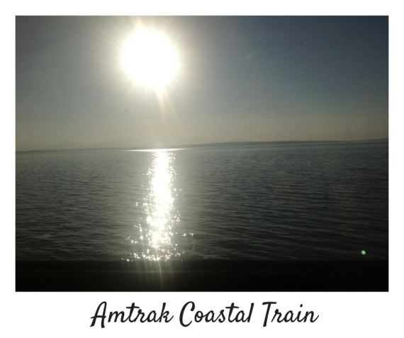 Amtrak Coastal Train-Seattle-Vancouver