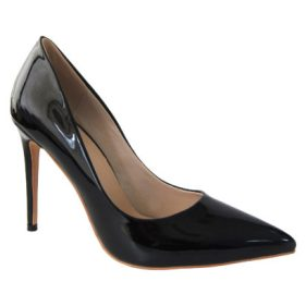 Mismatched-shoes-trend-high heels-Gabriel Maxx-Black