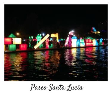 Paseo Santa Lucia-Monterrey-Nuevo Leon-Christmas