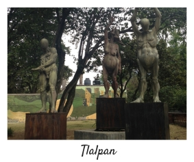 Statues-Tlalpan-Downtown-Mexico City