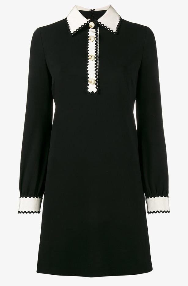 Gucci-Zig Zag-Little Black Dress-LBD