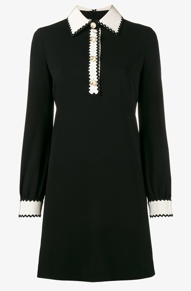 Gucci-Zig Zag-Little Black Dress-LBD