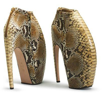Armadillo Shoes - Alexander McQueen
