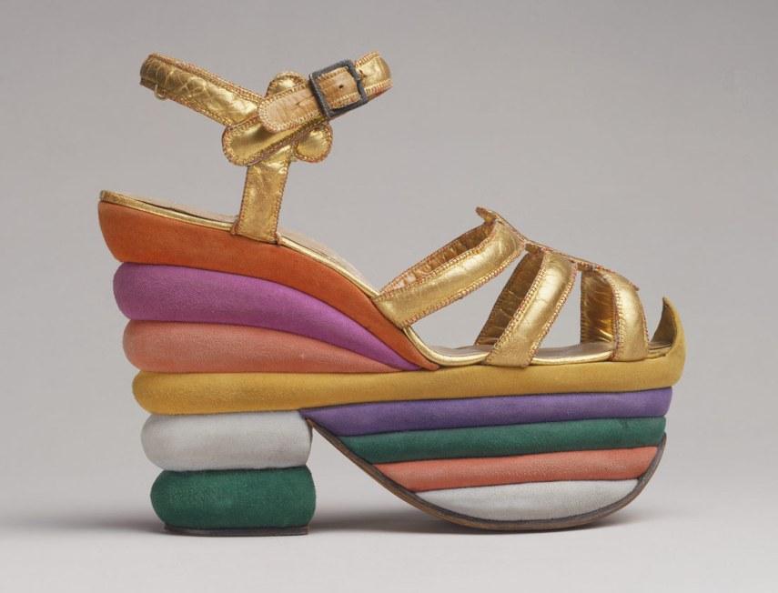 Rainbow Shoe - Salvatore Ferragamo