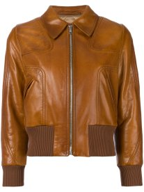 Prada leather bomber jacket - how to wear a bomber jacket