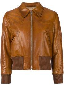 Prada leather bomber jacket - how to wear a bomber jacket