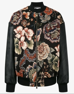 Stella McCartney Sabina Tapestry Bomber Jacket- how to wear a bomber jacket