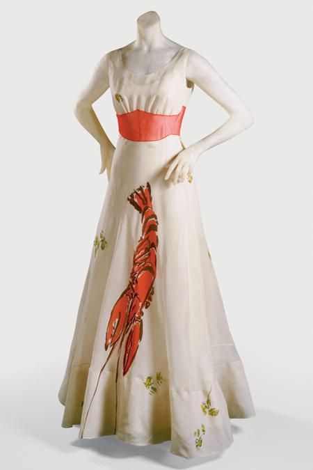 The Lobster Dress Elsa Schiaparelli and Salvador Dali